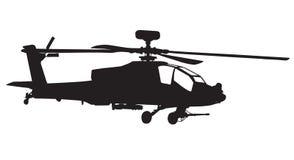 Helicóptero de Apache Fotos de Stock
