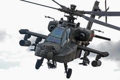 Helicóptero de Apache Foto de archivo