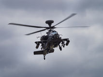 Helicóptero de Apache fotografia de stock