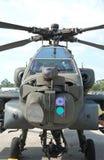 Helicóptero de ataque de Apache fotos de archivo