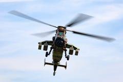 Helicóptero de ataque francés del tigre de Armee De Terre Eurocopter EC665 del ejército foto de archivo