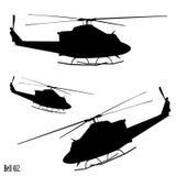 Helicóptero de Bell 412 Foto de Stock Royalty Free