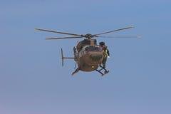 Helicóptero de BK foto de archivo