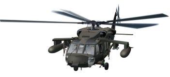 Helicóptero de BlackHawk Imagenes de archivo
