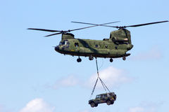 Helicóptero de Chinook Fotografia de Stock Royalty Free