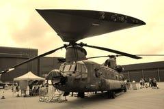 Helicóptero de Chinook foto de archivo