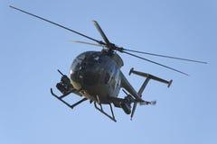 Helicóptero de combate acorazado Foto de archivo libre de regalías