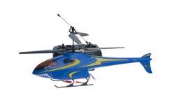 Helicóptero de controle remoto Fotos de Stock