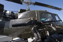 Helicóptero de Huey Fotografía de archivo libre de regalías