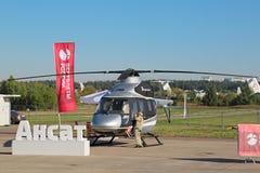 Helicóptero de Kazan Ansat Imagem de Stock Royalty Free
