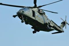Helicóptero de MERLIN Fotos de archivo libres de regalías