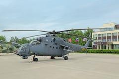 Helicóptero de mil. Mi-35 Imagens de Stock