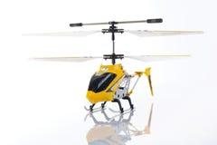 Helicóptero de RC Fotografía de archivo