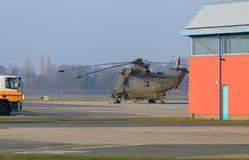 Helicóptero de Sea King Imágenes de archivo libres de regalías