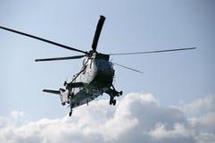 Helicóptero de SeaKing Fotografía de archivo