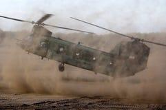Helicóptero del chinuk Imágenes de archivo libres de regalías