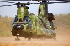 Helicóptero del chinuk Fotografía de archivo libre de regalías