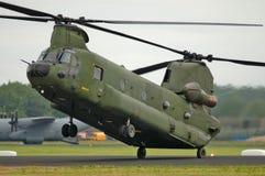 Helicóptero del chinuk CH-47 Fotos de archivo libres de regalías