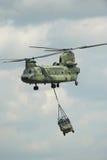 Helicóptero del chinuk CH-47 Foto de archivo libre de regalías