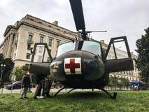 Helicóptero del ejército Fotografía de archivo libre de regalías