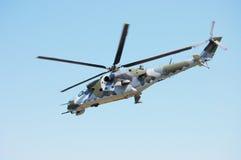 Helicóptero del ejército Fotos de archivo