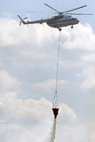 Helicóptero del Fireguard fotografía de archivo libre de regalías