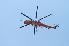 Helicóptero del fuego Imagen de archivo libre de regalías