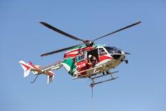 Helicóptero del fuego Imágenes de archivo libres de regalías