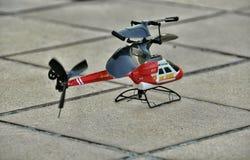 Helicóptero del juguete Imagenes de archivo