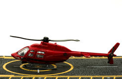 Helicóptero del juguete foto de archivo libre de regalías