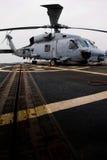 Helicóptero del rescate de la marina Fotografía de archivo libre de regalías