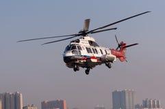 Helicóptero del rescate EC225 Foto de archivo libre de regalías