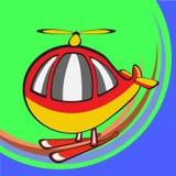 Helicóptero divertido Fotografía de archivo libre de regalías