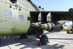 Helicóptero do armamento Foto de Stock