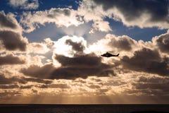 Helicóptero do AW 139 Foto de Stock