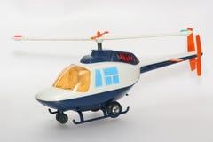 Helicóptero do brinquedo dos anos 80 Fotos de Stock