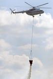 Helicóptero do Fireguard Fotografia de Stock Royalty Free
