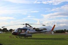 Helicóptero do fogo-fightting Foto de Stock