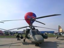 Helicóptero do jacaré de Kamow Ka-52 Imagem de Stock Royalty Free