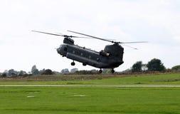 Helicóptero do salmão real imagens de stock
