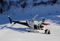 Helicóptero do salvamento Foto de Stock Royalty Free