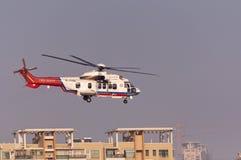 Helicóptero do salvamento EC225 Imagem de Stock