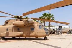 Helicóptero do transporte Fotos de Stock Royalty Free