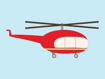Helicóptero do vintage Fotos de Stock Royalty Free