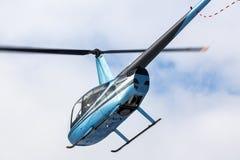 Helicóptero do voo Imagem de Stock