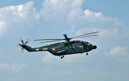 Helicóptero estupendo francés del Sud SA-321G Frelon de la marina de guerra Imagen de archivo