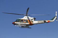 Helicóptero finlandés del rescate imágenes de archivo libres de regalías