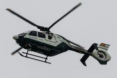 Helicóptero Guardia civil Aviões: EC135 Imagens de Stock