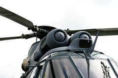 Helicóptero holandês da marinha imagem de stock
