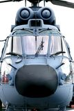 Helicóptero holandês da marinha (frontal) fotos de stock royalty free